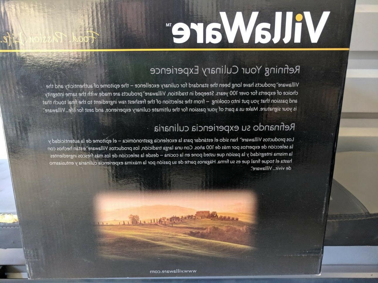 VillaWare New Stainless Steel VillaWare Food Blender