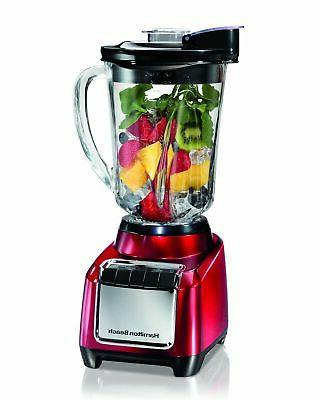 wave action blender red 53519w