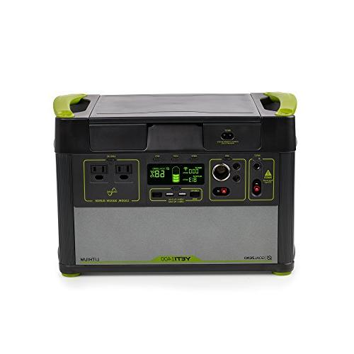 Goal WiFi Mobile App 1425Wh Silent Free Generator Watt USB-C, Outputs
