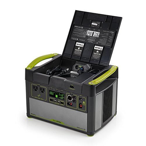 Goal Zero Yeti Lithium Portable Power WiFi Mobile Enabled 1425Wh Silent Gas Generator Watt USB, USB-C, USB-PD, 12V Outputs
