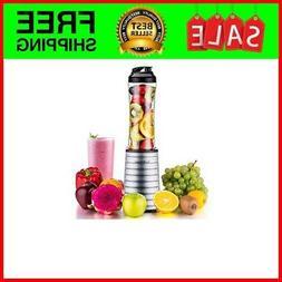 La Reveuse Smoothies Blender 300 Watt with 18 oz BPA Free Po