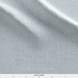 Spoonflower Lilacmauve Fabric Faux Burlap In Slate Grey by W