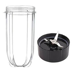 16oz Cup and Replacement Blade for Magic Bullet Blender Set