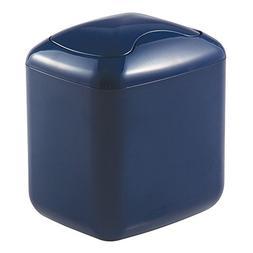 mDesign Small Mini Plastic Modern Wastebasket Trash Can Disp