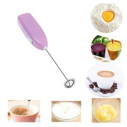 Milk Frother, Jewelvwatchro Portable Mixer Small Handheld El