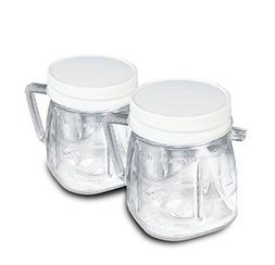 Oster 1-Cup Mini Plastic Blend Jar Set Of 2