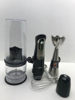 Braun MQ725 Multiquick Hand Blender, Black