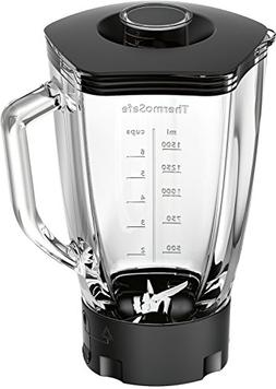 Bosch MUZ9MX1 Thermosafe Glass Blender with Stainless Steel