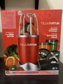 NutriBullet NBR-1201R 12-Piece High-Speed Blender/Mixer Syst
