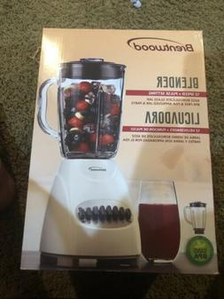 NEW Brentwood 42-Ounce 12-Speed + Pulse Electric Blender wit