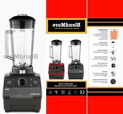 "NEW-2200W-BlendMore 6000-3HP Blender w/ ""Amazing Vitamix Smo"