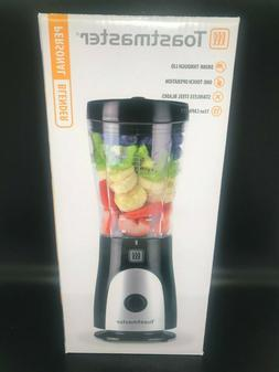 New! Toastmaster Black Personal Blender 15 oz Capacity Stain