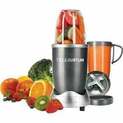 NEW - NBR-0801, Magic Bullet 24-oz Gray 1-Speed 600-Watt Ble