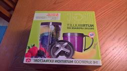 NEW Magic Bullet Nutribullet Deluxe 5 Piece Upgrade Kit New