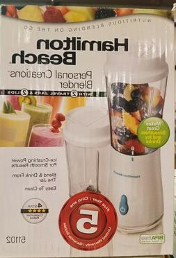 New Hamilton Beach Personal Creations Blender w/ 2 Jars 5110
