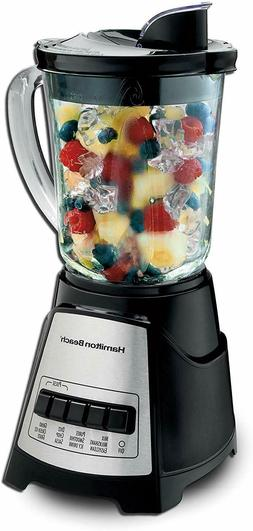 NEW!!! Hamilton Beach Power Elite Electric Blender, Black an