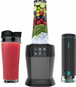 Nutri Ninja with FreshVac 24-Oz. Blender - Black
