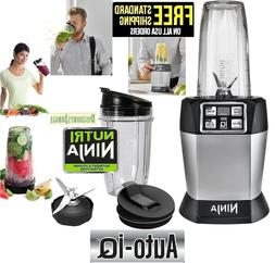 Ninja - Nutri Ninja with FreshVac 24-Oz. Blender - Black