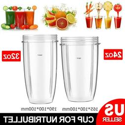 For Nutribullet Blender Cup Juicer Mixer Mug Cup Replacement