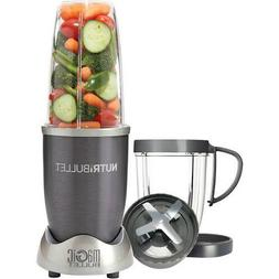 NutriBullet by Magic Bullet 8pc - Silver Nbr-0801 Free Ship