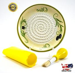 All-in-one Ceramic Garlic Grater set by- CA primeproducts -N