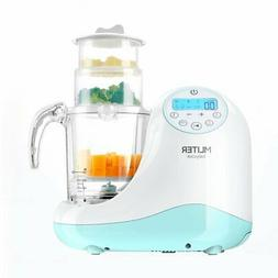 MLITER All in One Baby Food Maker with Steam Cooker, Blender