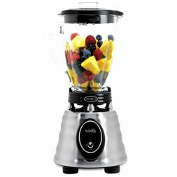 Oster 6-Cup Glass Jar 2-Speed Toggle Beehive Blender, Brushe