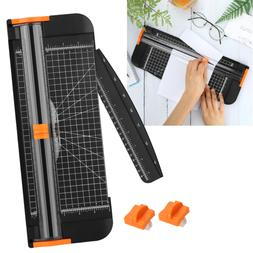 """Paper Cutter 12"""" A4 Paper Trimmer w/ Automatic Security Safe"""