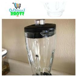 Parts NEW 6-Cup Glass Jar Oster Blender Black Lid Blender  u