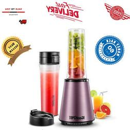 ICOOKPOT Nutrition Blender Personal Blender with Two BPA-Fre