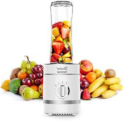Personal Blender, Doctor Hetzner 300W High-Speed Smoothies M