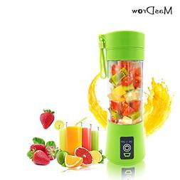 MasDrow Personal Portable USB Rechargeable Mini Juicer Cup,