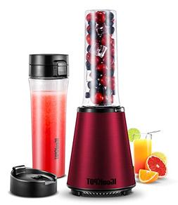 ICOOKPOT Smoothies Blender Electric Personal Size Blender fo