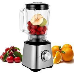 800W Plastic jar Smoothie Blender, Kitchen System 1.8L Brush
