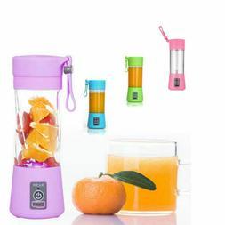 Portable 4 Color 380ml Electric Juice Blender Maker Cup Mult
