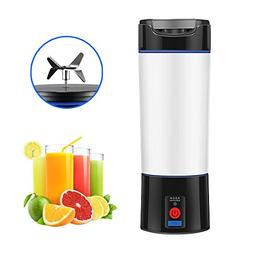 Portable Blender Cup for Shakes and Smoothies, ALLOMN Electr
