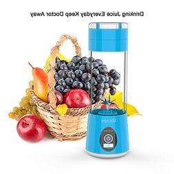 Portable Blender Mini Travel Juice Cup,Bbtops Fruit Mixer Pe