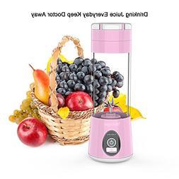 Portable Blender Mini Travel Juice Cup, Bbtops Fruit Mixer P