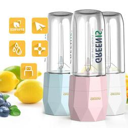 Greenis Portable Blender Mini Juicer Bottle Smoothie Fruit M