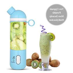 A-szcxtop Portable Blender Personal Juicer Cup with Juice an
