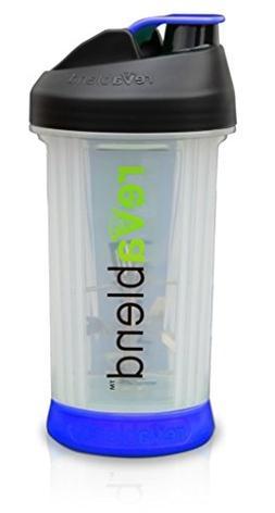 Revablend Non-Electric Portable Blender, 16 Ounce, Blue