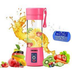 Portable Blender Smoothie Juicer Cup 13oz Fruit Mixing Machi