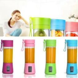portable blender usb juicer cup fruit mixing