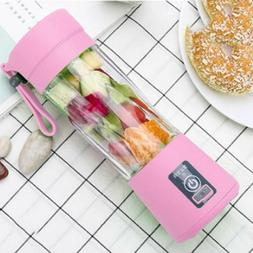 Portable Blender USB Juicer Cup Fruit Mixing Machine Recharg