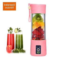 Portable Juicer Blender Juicer Cup with Updated 6 Blades PP