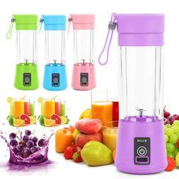 Portable Mini Blender Smoothie Juicer Cup Personal Single Se