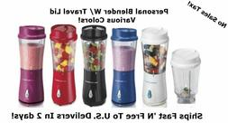 Portable Personal Blender Hamilton Beach Reliable Fruit Vege