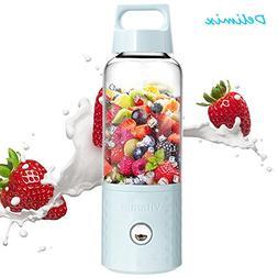 Portable Smoothie Blender Juicer, USB Rechargeable Fruits Mi