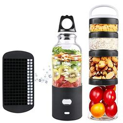 Portable Smoothie Blender Personal Blender for Shakes and Sm