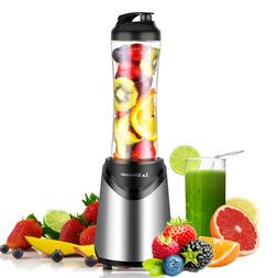 Portable Travel 300W Personal Blender with 18 oz BPA Free Bo